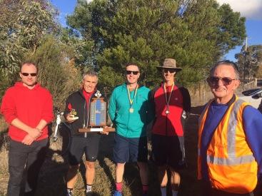 Cole Family Trophy 2017 - Men's winners